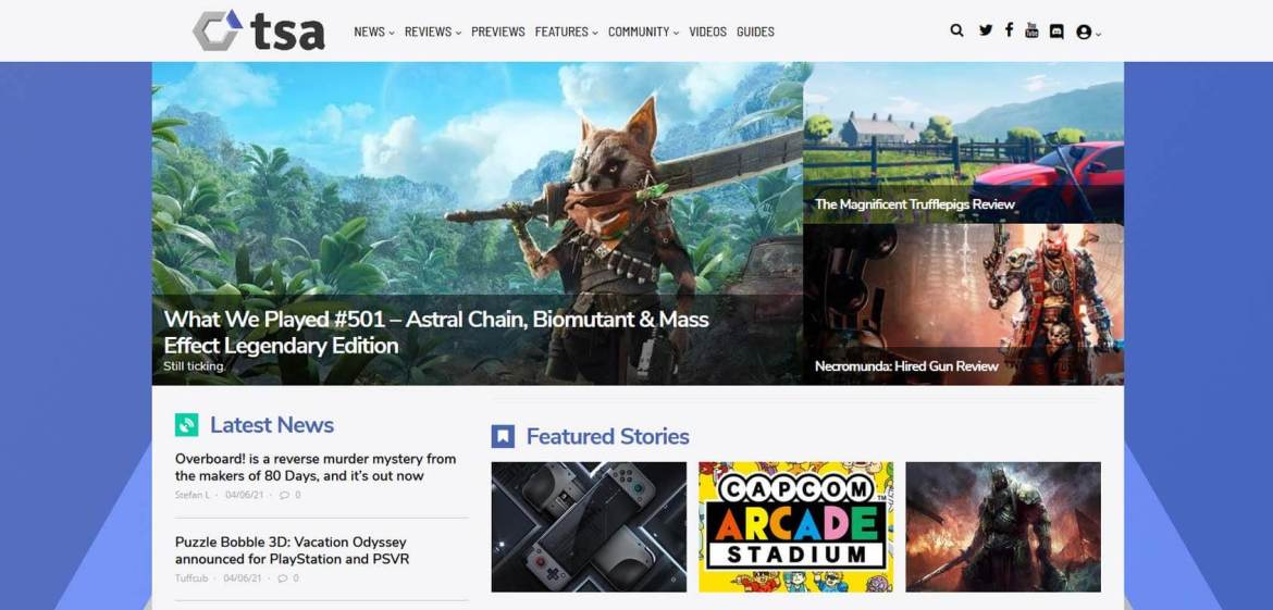 The Sixth Axis Homepage