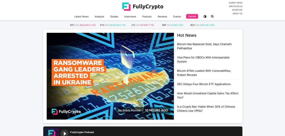 FullyCrypto Homepage