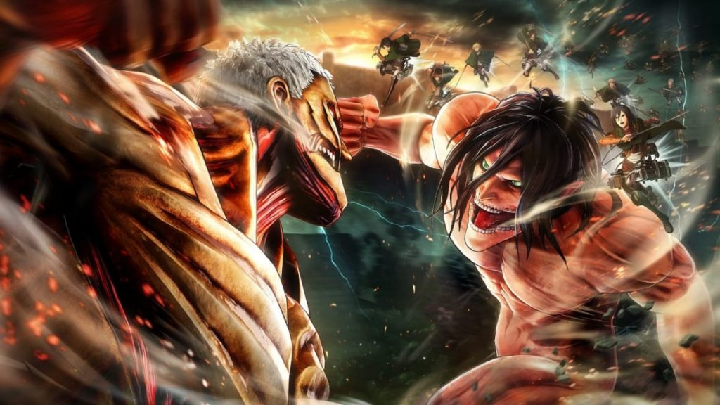 attack on titans - FirstSportz