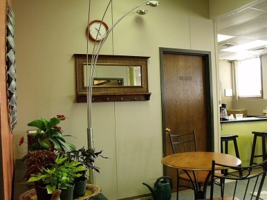 Picture of the Focus Room Entrance