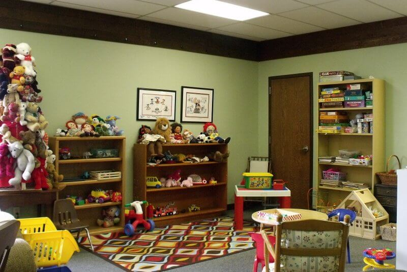 Picture 2 of the Children's Play Area inside of the Library