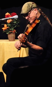 picture provided by LilFest - T. Bruce Bowers playing violin