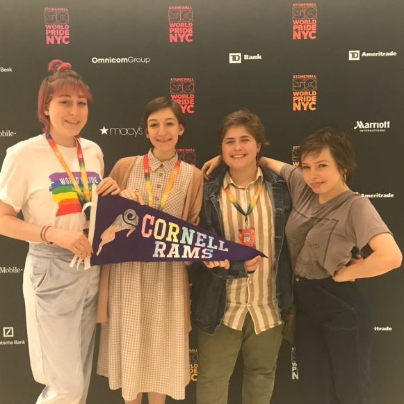 Cornell College [alliance] members attending World Pride