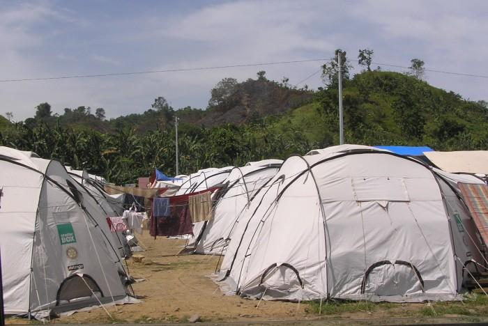 Cagayan de Oro tent city