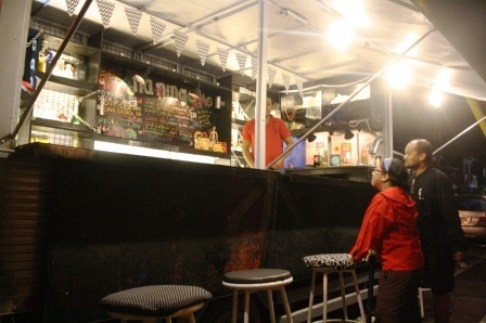 It's a mobile bar!