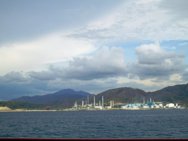 Oil depots at the Batangas port.