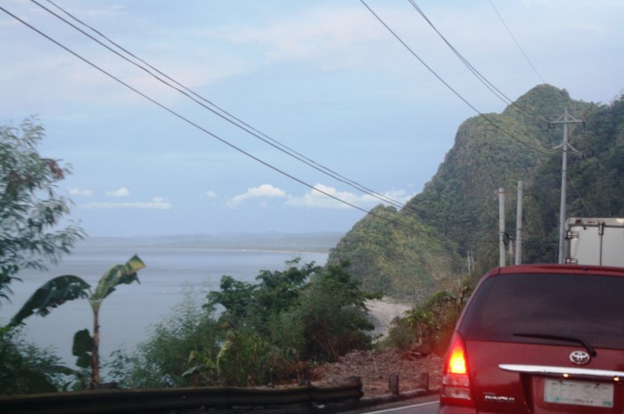 Spectacular coastal view in Caticlan.