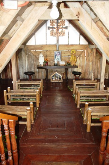 The chapel at the tower.