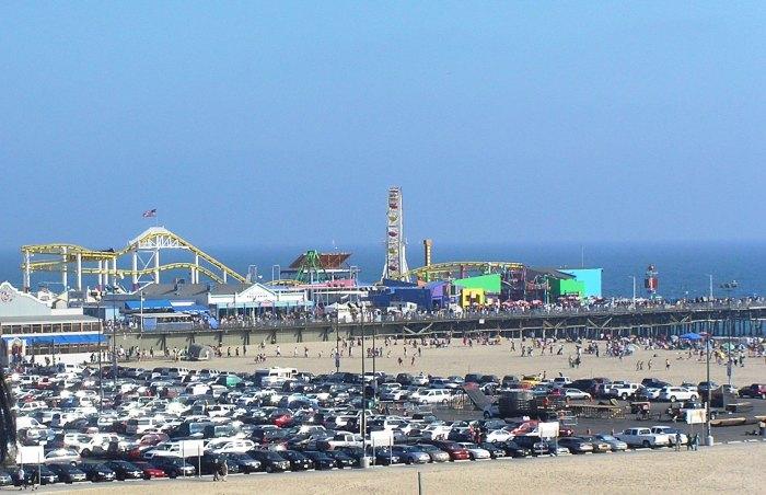 Sta. Monica Beach, LA