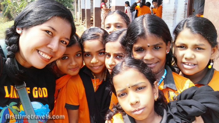 Kerala Blog Express school visit