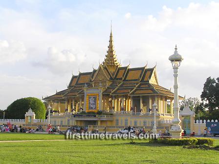 Royal Palace, Phnom Penh ASEAN Cambodia