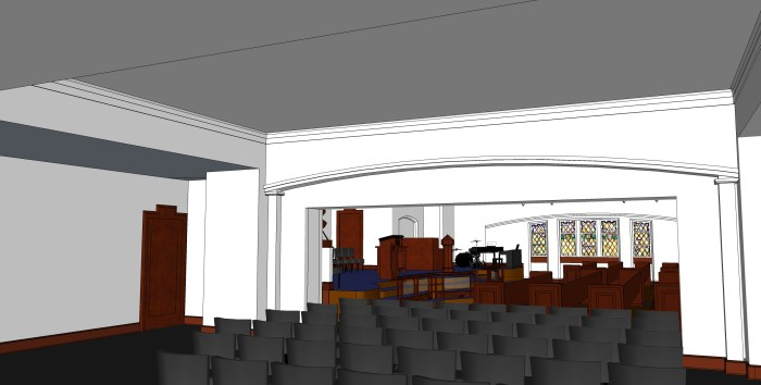 6 - Hospitality Room with Overflow Seating