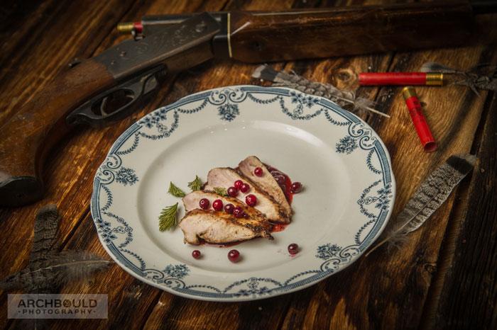 Grouse Dinner - Cathie Archbould, Photographer