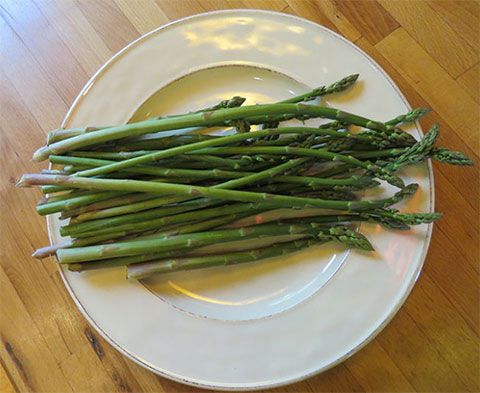 Yum! Fresh Northern Asparagus