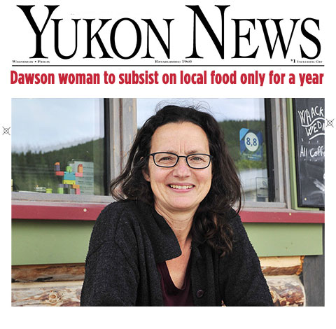 Yukon News Profiles Suzanne and First We Eat Project