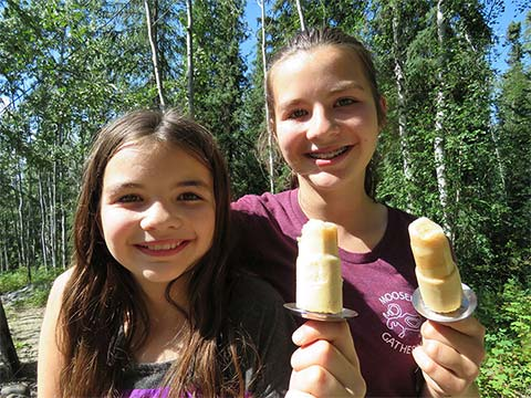 Homemade Birch Creamsicles a Favourite for Suzanne's Family