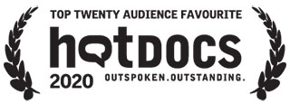 Winner Topt Twenty Audience Favourites at the 2020 HotDocs Film Festival