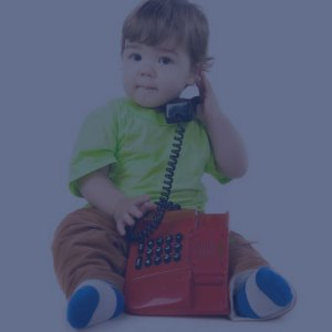 boy playing with phone