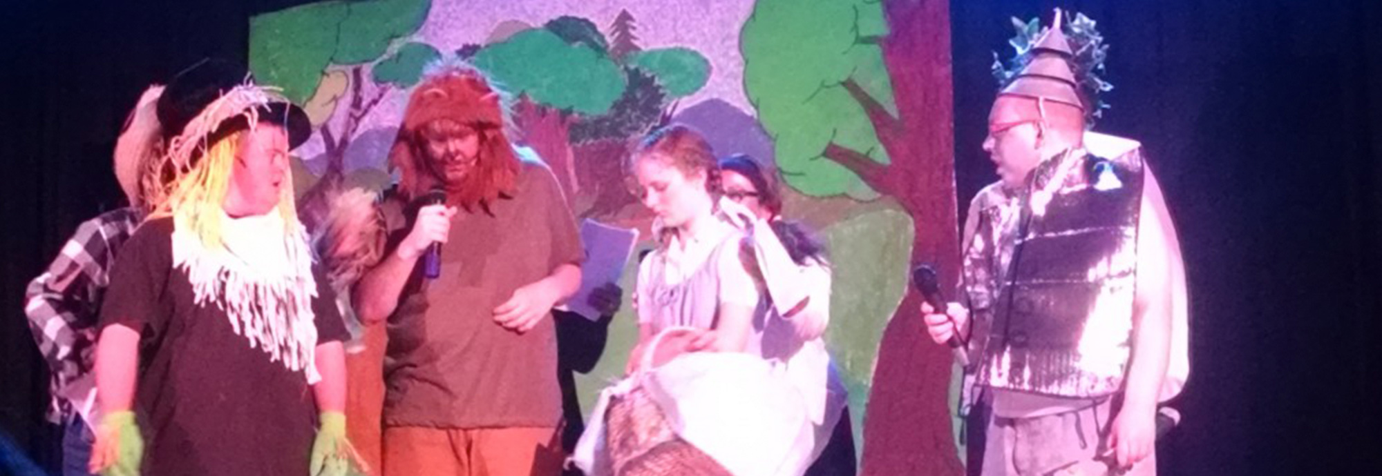 community play of Wizard of Oz