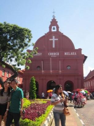 Red Squae Melaka Church