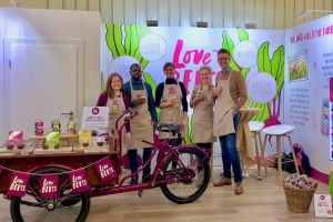 Me with the Love Beets Team at the BioFach 2019 Tradeshow