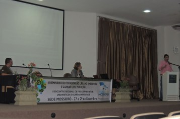 II Encontro Regional de Fiscalização Urbanística, Ambiental e Guardas Municipais - Mossoró RN - 085