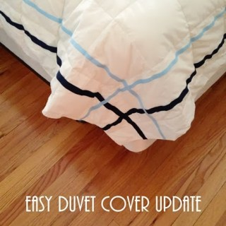 An Easy Duvet Cover Update