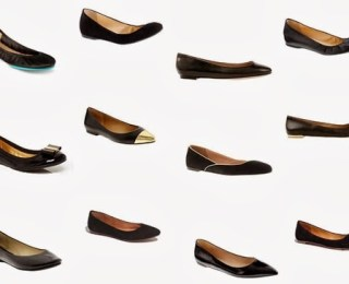 Wanted: Perfect Black Flats