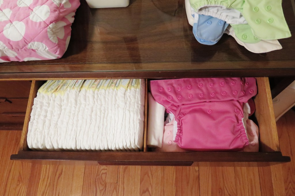 diaper drawer