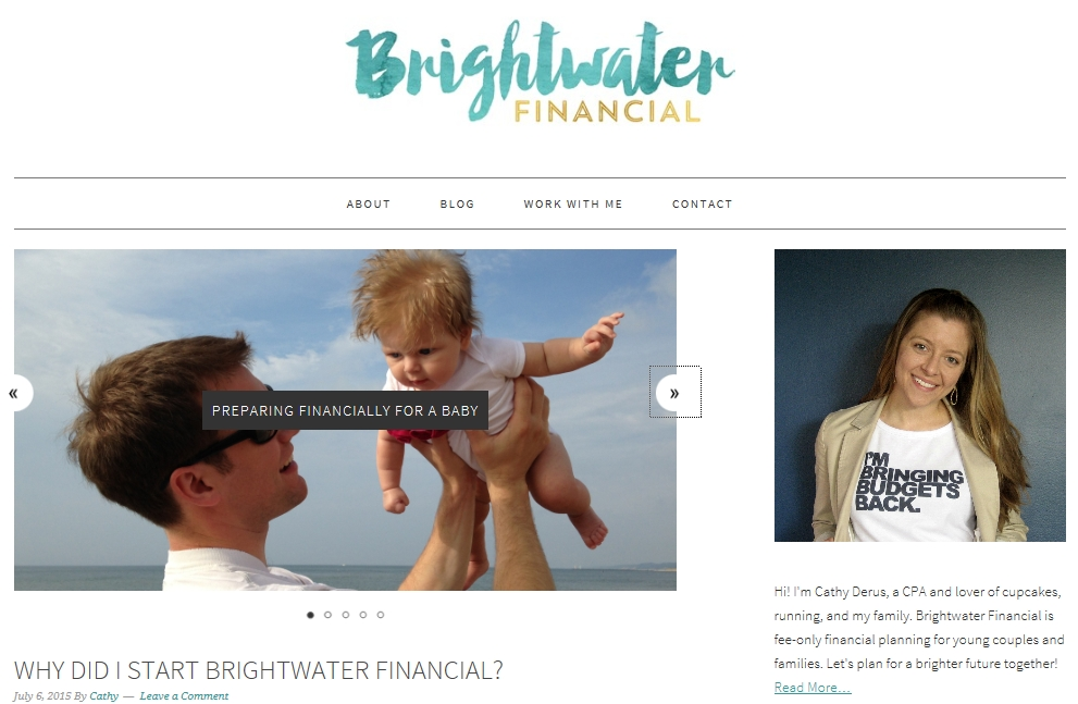 Brightwater Financial website launch