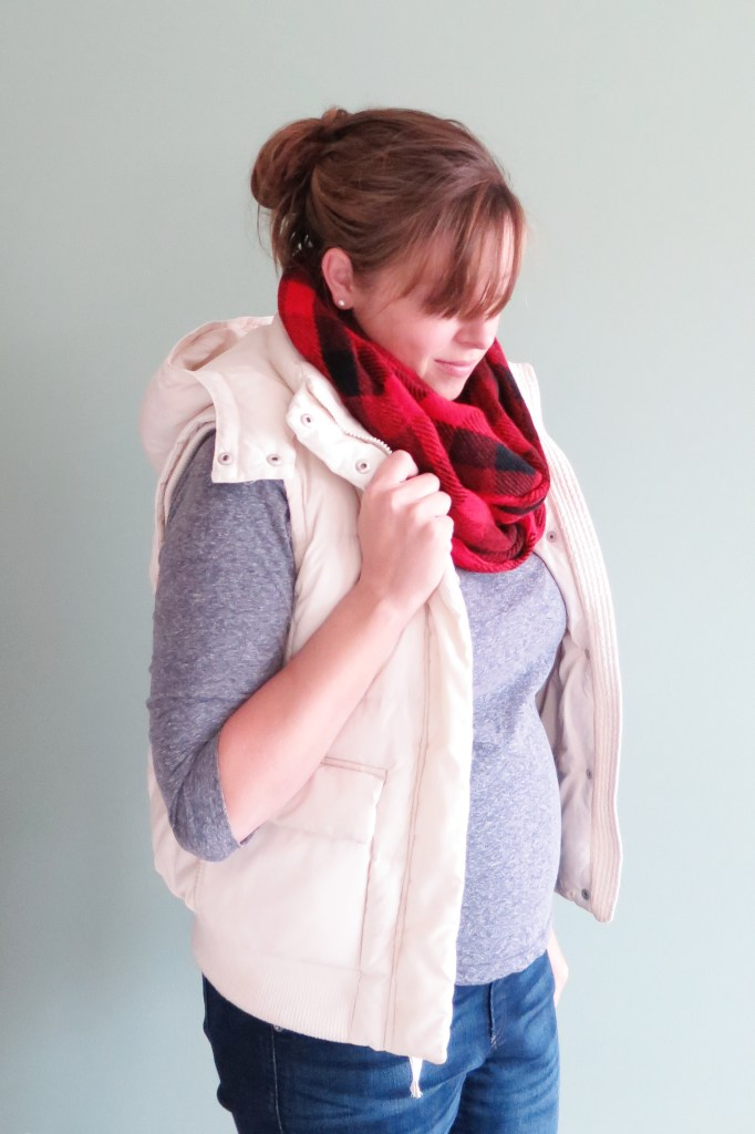 Stitch Fix Checkered Infinity Scarf