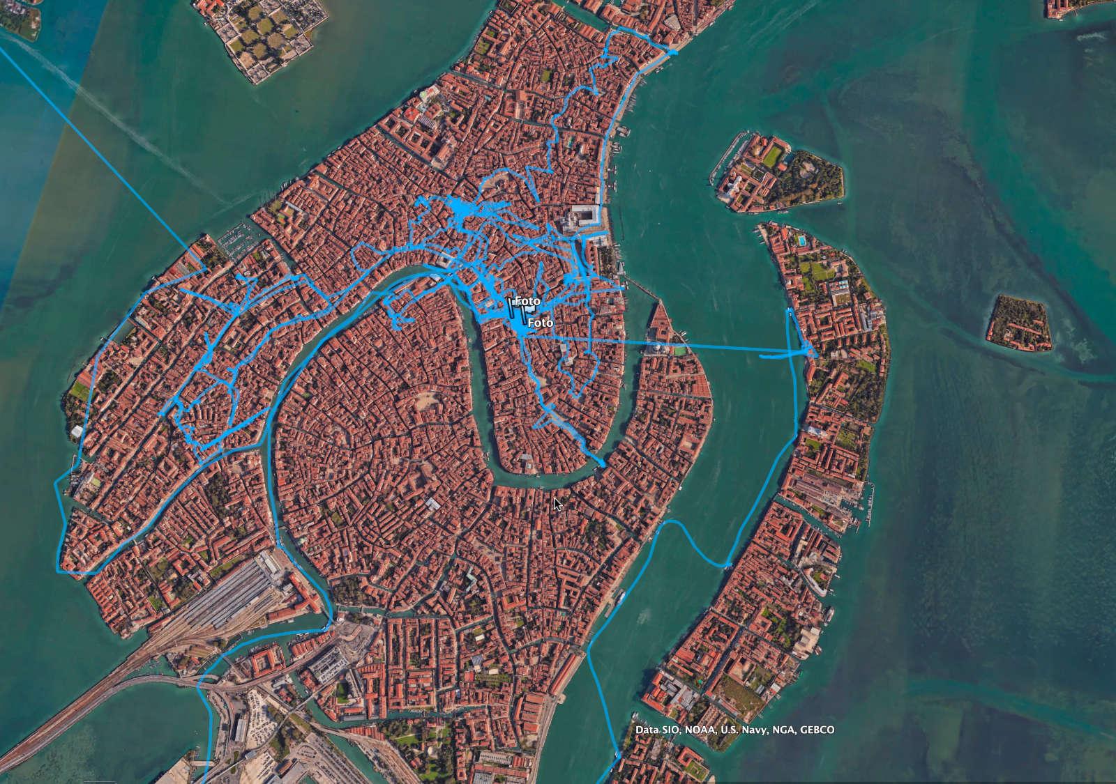 Venedig Route Dietmar Sebastian Fischer