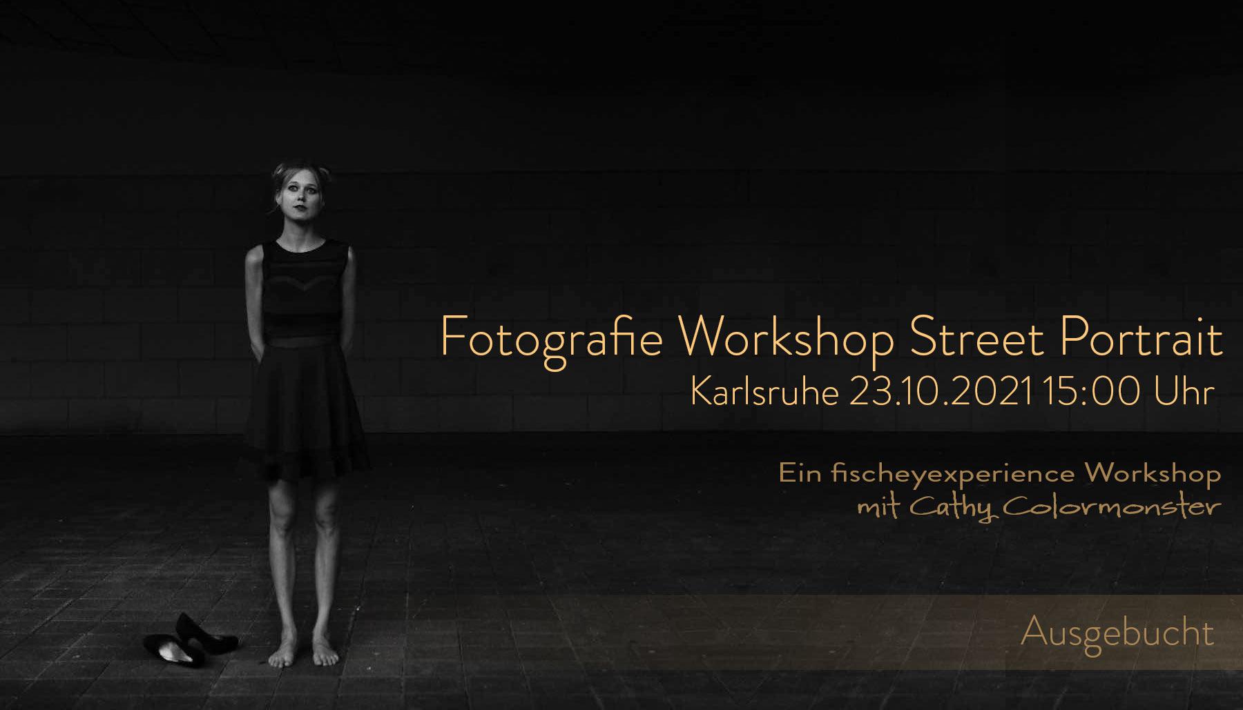 KStreet Portrait Workshop mit Cathy Colormonster ausgebucht Dietmar Sebastian Fischer