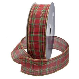 plaid-velvet-ribbon-WIR-40VEL-PLA