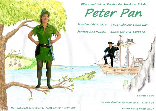 Peter Pan landet in Fischlaken!