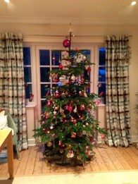 Our final beautifully decorated tree