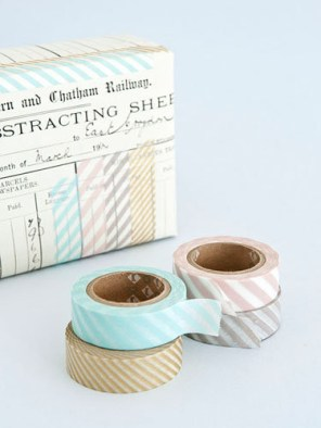 Striped tape