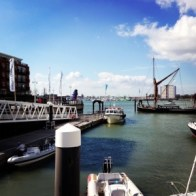 Portsmouth in the sunshine