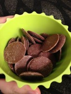 Giant chocolate buttons