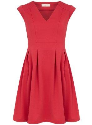 pink twill dress