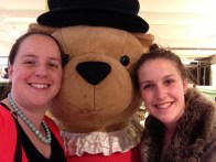 Making friends at Harrods