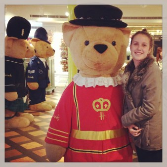 Giant Beefeater bears