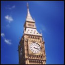 Big Ben in the glorious sunshine