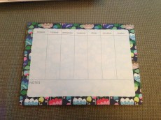 Hooray for my blog planner
