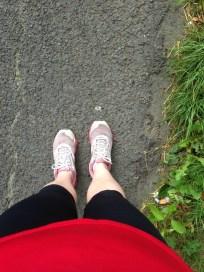 Sunday morning running attire