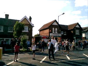 The Olympic Flame came to York in June 2012