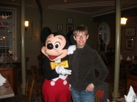 Happy 18th Birthday to my boy from Mickey Mouse at Disneyland Paris - October 2012