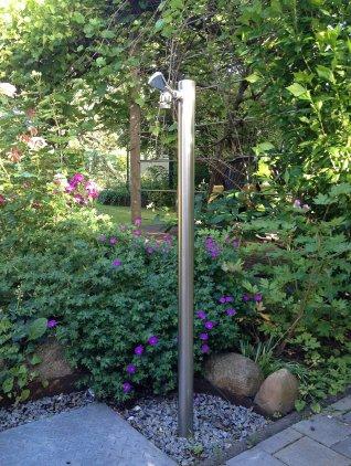 Wasserzapfstelle Wassersule Edelstahl