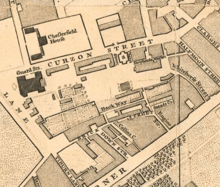 shepherd-market-18-wiek-Mayfair-Londyn