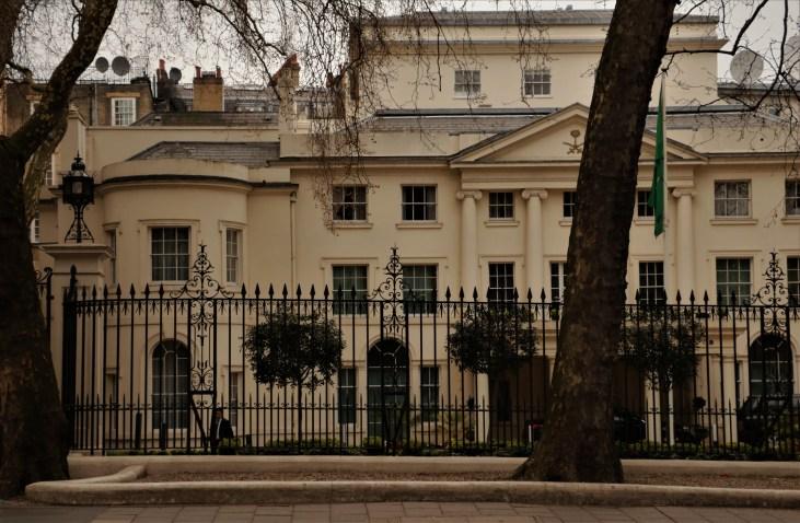 Ambasada-Arabii-Saudyjskiej-Curzon Street-Mayfair